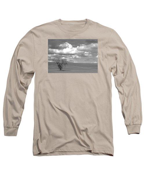Summer Flack Tree Long Sleeve T-Shirt