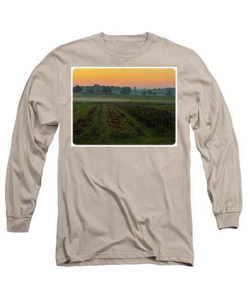 Sunrise On The Farm Long Sleeve T-Shirt
