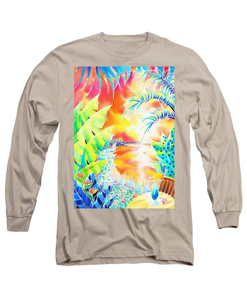 Sunset Cocktail Long Sleeve T-Shirt