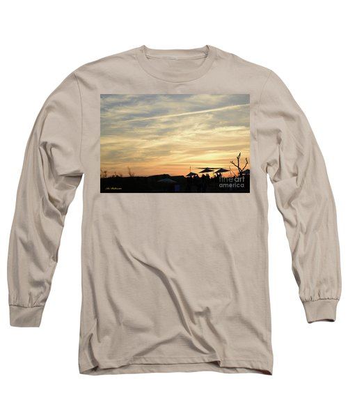 Sunset View Long Sleeve T-Shirt by Arik Baltinester