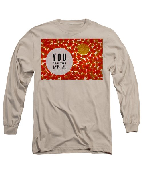 Long Sleeve T-Shirt featuring the photograph Sunshine by Bobby Villapando