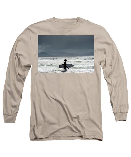 Surfing At  Long Sleeve T-Shirt