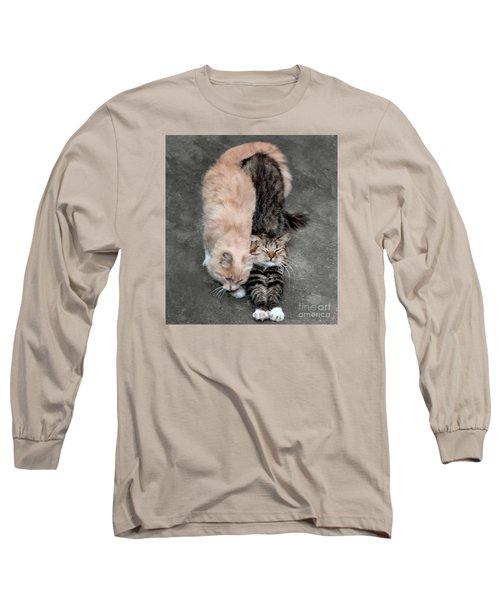 Sweet Couple Long Sleeve T-Shirt by Sergey Lukashin