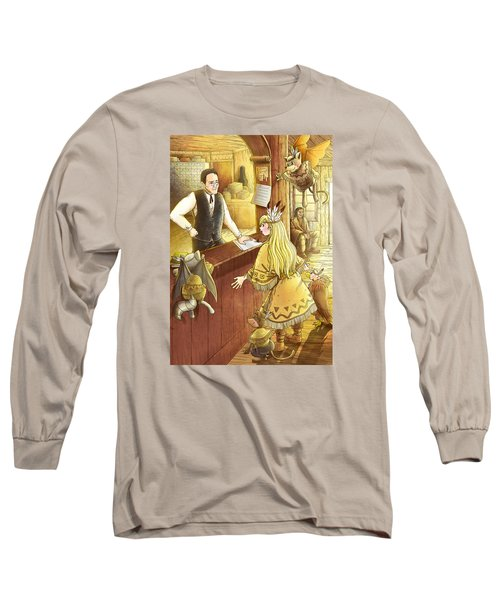 Tammy And The Postmaster Long Sleeve T-Shirt