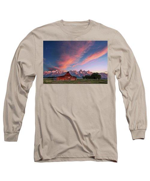 Teton Sunrise Long Sleeve T-Shirt