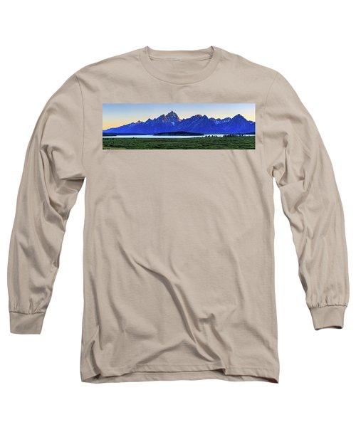 Teton Sunset Long Sleeve T-Shirt