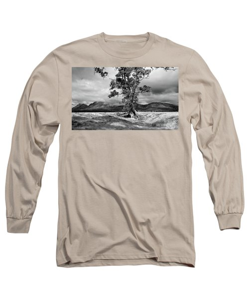 Long Sleeve T-Shirt featuring the photograph The Cazneaux Tree by Bill Robinson