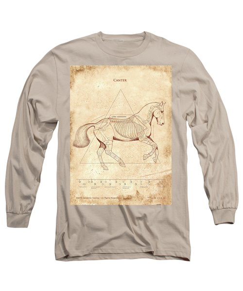 The Horse's Canter Revealed Long Sleeve T-Shirt