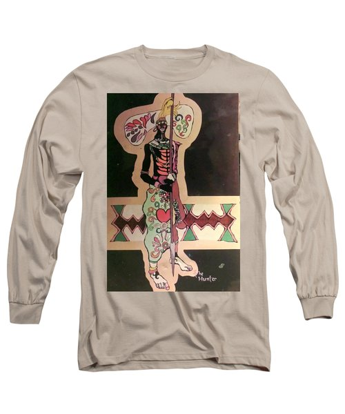 The Hunter  Long Sleeve T-Shirt by G Cuffia
