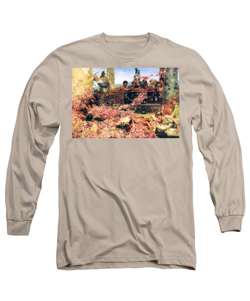 The Roses Of Heliogabalus Long Sleeve T-Shirt