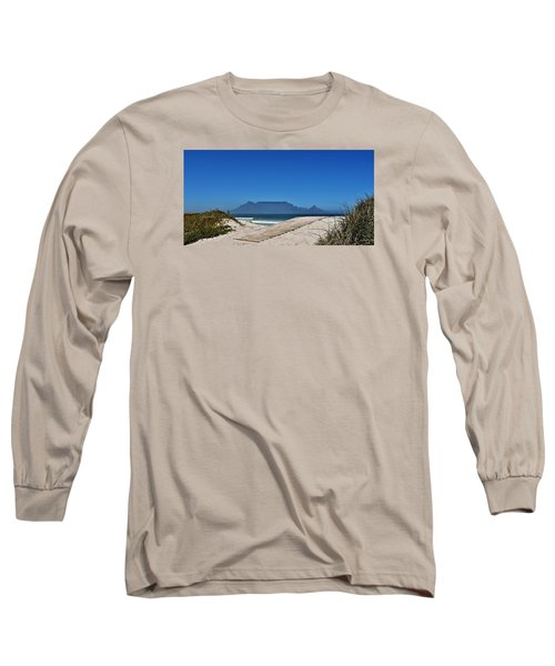 Long Sleeve T-Shirt featuring the photograph The View At Table Mountain by Werner Lehmann