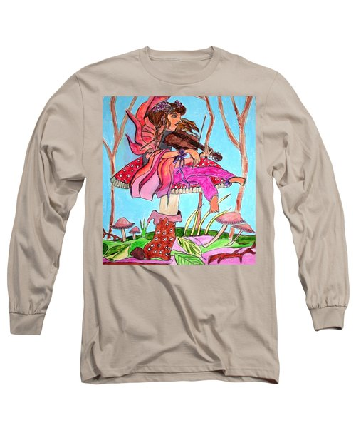 The Violinist Fairy Long Sleeve T-Shirt