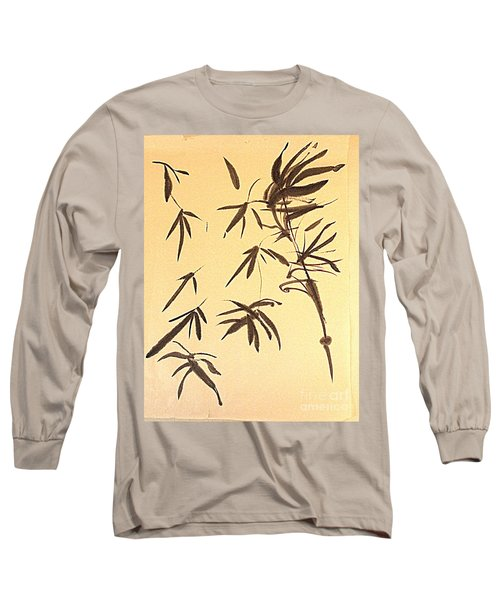 Long Sleeve T-Shirt featuring the painting Thinking Of Wind 3 by Nancy Kane Chapman
