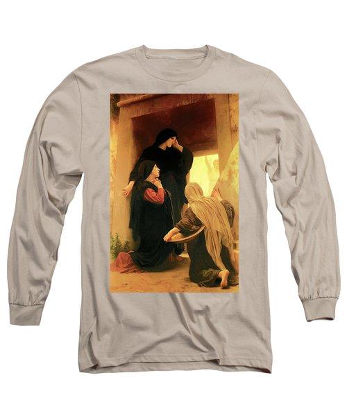 Three Marys At The Tomb Long Sleeve T-Shirt