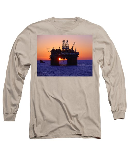 Thunder Horse At Sunset Long Sleeve T-Shirt