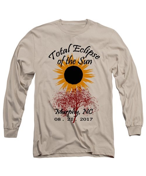 Total Eclipse T-shirt Art Murphy Nc Long Sleeve T-Shirt