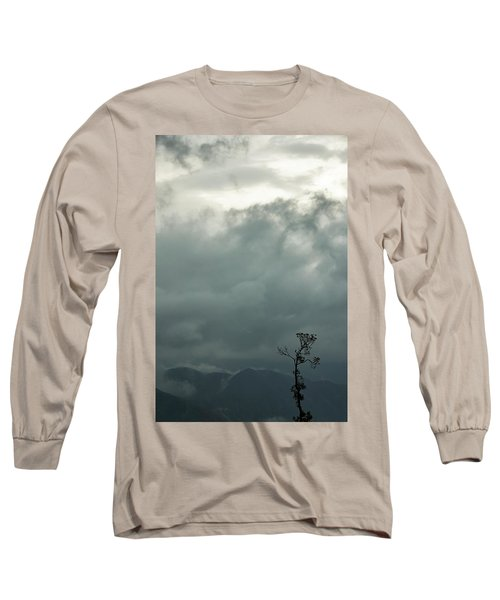 Tree And Mountain  Long Sleeve T-Shirt