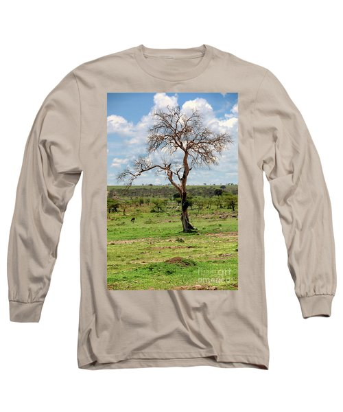 Long Sleeve T-Shirt featuring the photograph Tree by Charuhas Images