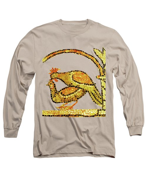 Long Sleeve T-Shirt featuring the digital art Twosome by Asok Mukhopadhyay