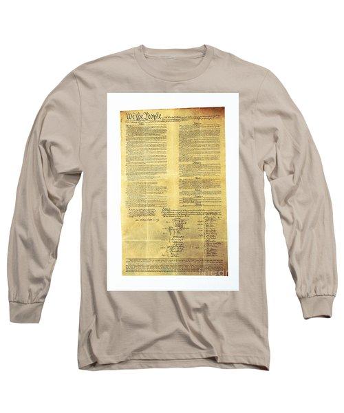 U.s Constitution Long Sleeve T-Shirt