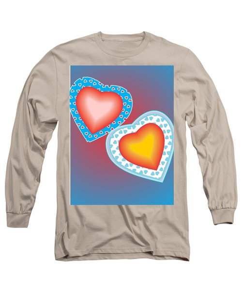 Valentine Lace Long Sleeve T-Shirt by Sherril Porter