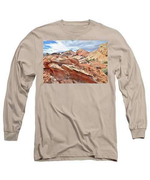 Valley Of Fire High Country Long Sleeve T-Shirt by Ray Mathis