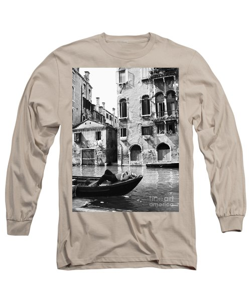 Venice Canal, 1969 Long Sleeve T-Shirt by Granger