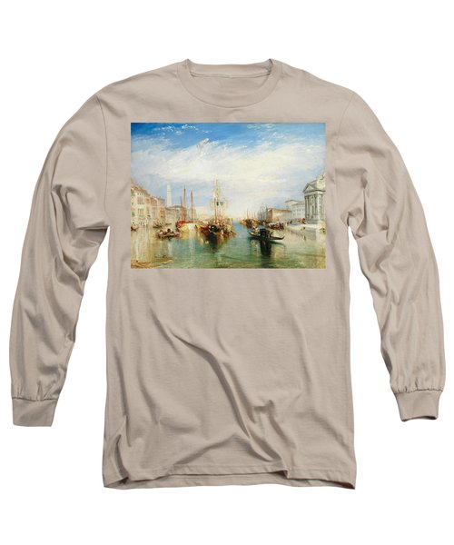 Venice, From The Porch Of Madonna Della Salute Long Sleeve T-Shirt