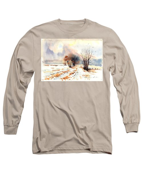Village Scene Iv Long Sleeve T-Shirt