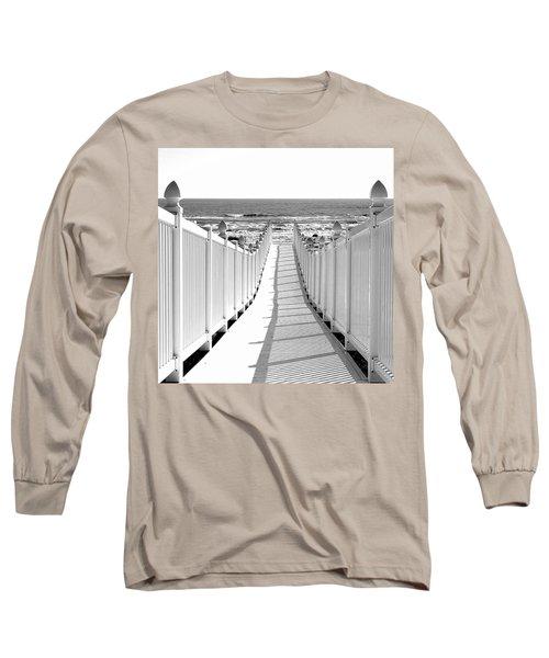 Walkway To Beach Long Sleeve T-Shirt