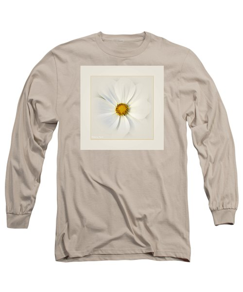 White On White Long Sleeve T-Shirt
