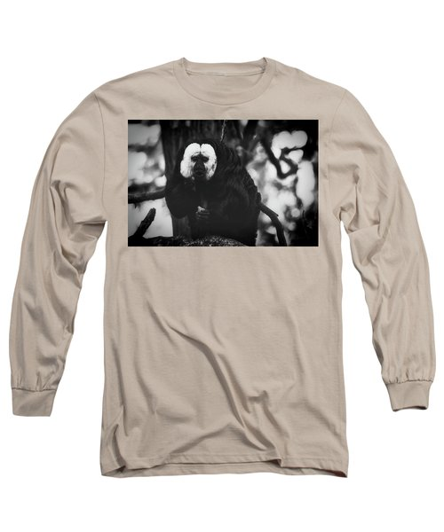 Long Sleeve T-Shirt featuring the photograph White Saki by The 3 Cats
