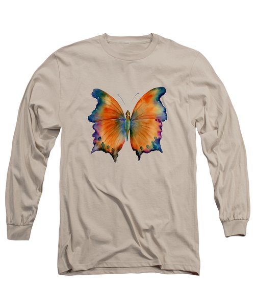 1 Wizard Butterfly Long Sleeve T-Shirt by Amy Kirkpatrick
