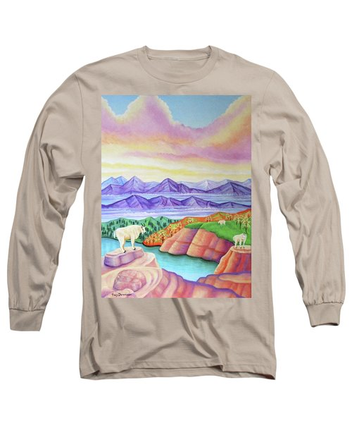Wonderland Long Sleeve T-Shirt by Tracy Dennison