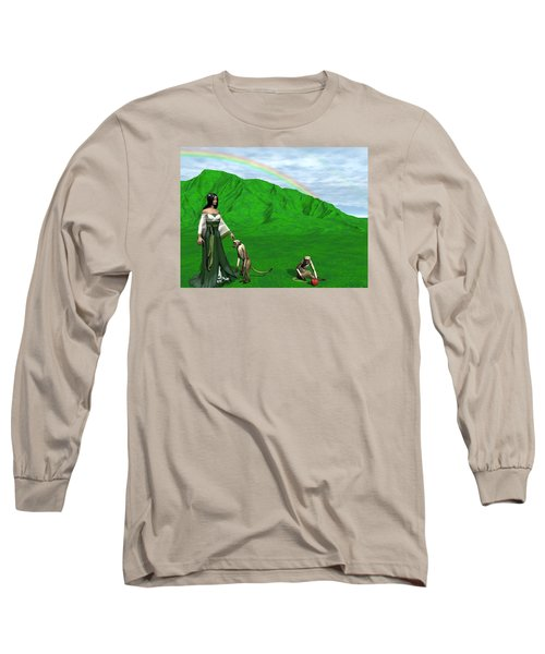 Year Of The Monkey Long Sleeve T-Shirt by Michele Wilson