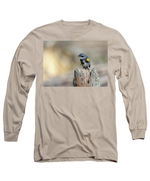 Yellow Rumped Warbler Long Sleeve T-Shirt
