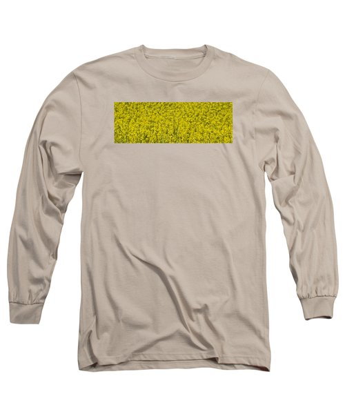 Long Sleeve T-Shirt featuring the photograph Yellow by Wanda Krack