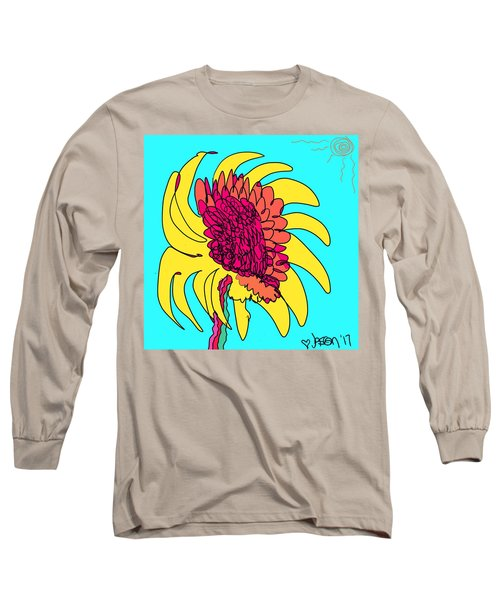 Yes. This Is A Flower, Child Long Sleeve T-Shirt