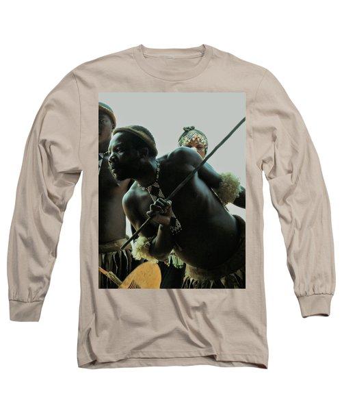 Zulu Warrior Long Sleeve T-Shirt