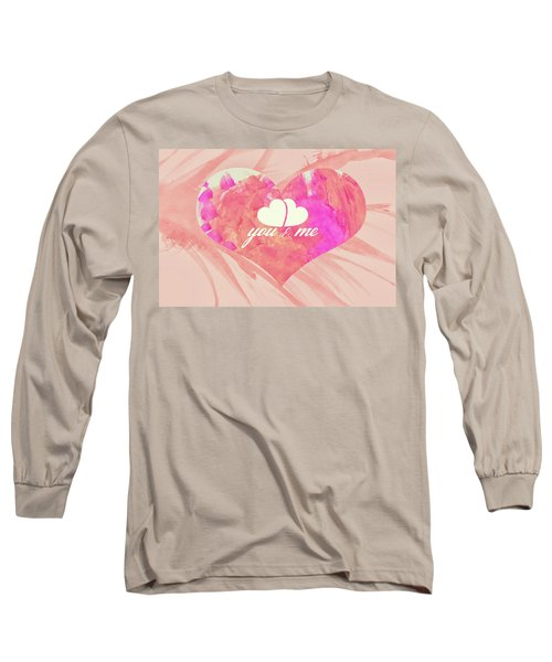 10183 You And Me Long Sleeve T-Shirt