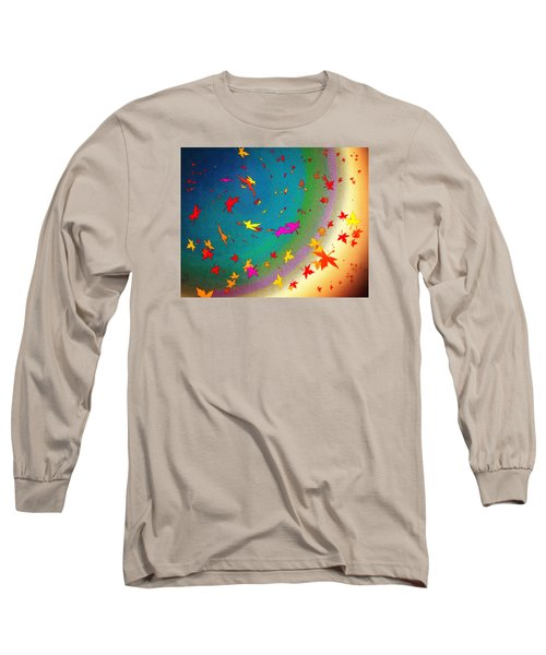 Long Sleeve T-Shirt featuring the digital art 103 by Timothy Bulone