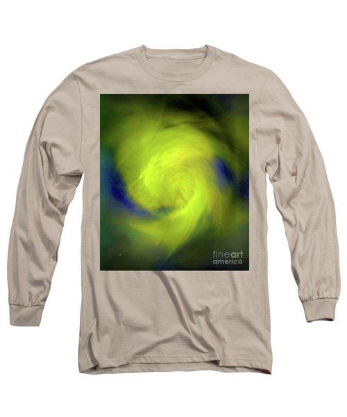 Long Sleeve T-Shirt featuring the digital art 1030-2017 by John Krakora