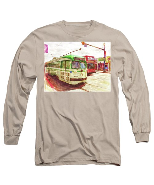 1050 Long Sleeve T-Shirt by Michael Cleere