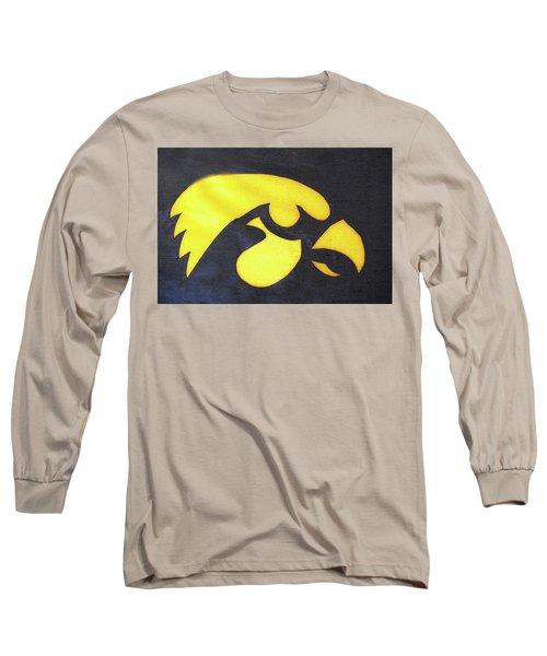 10724  Iowa Hawkeye Long Sleeve T-Shirt