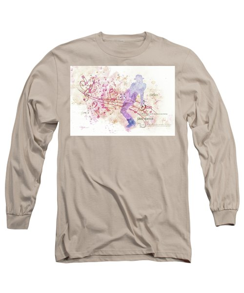 10849 All That Jazz Long Sleeve T-Shirt by Pamela Williams