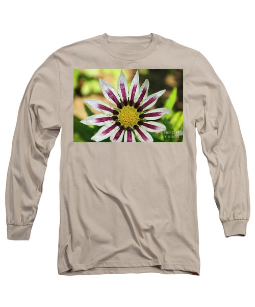 Nice Flower Long Sleeve T-Shirt by Elvira Ladocki