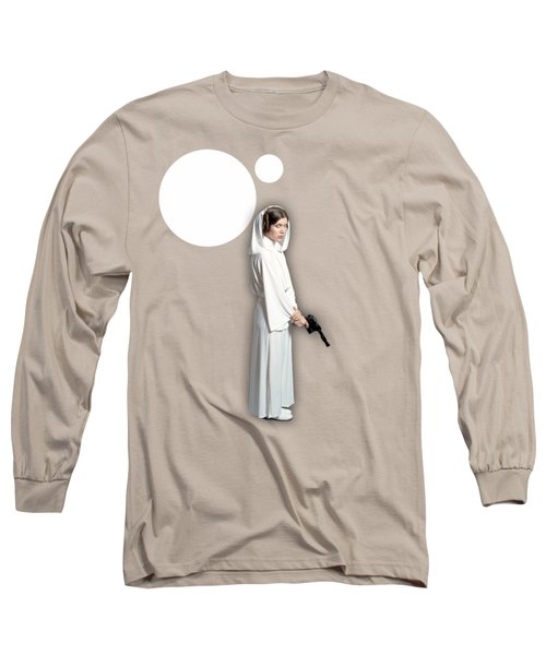 Star Wars Princess Leia Collection Long Sleeve T-Shirt by Marvin Blaine