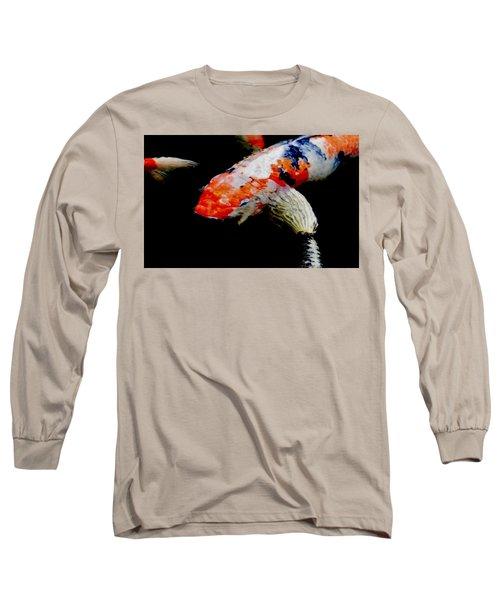Koi Fish Long Sleeve T-Shirt by Werner Lehmann