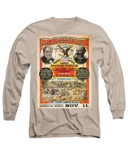 1890 - Circus Poster Long Sleeve T-Shirt