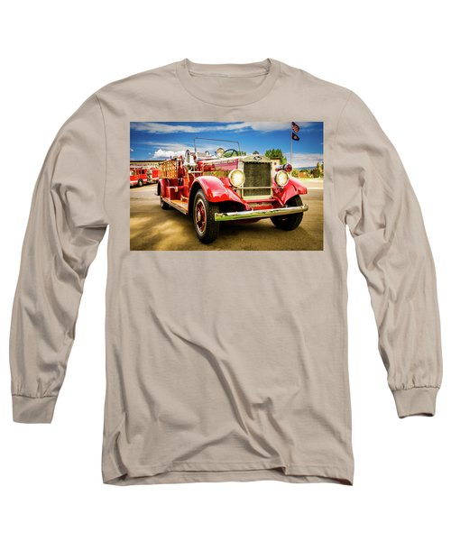 1931 Mack - Heber Valley Fire Dept. Long Sleeve T-Shirt